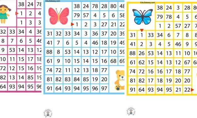Labirynty matematyczne: Dzień Dziewczynek