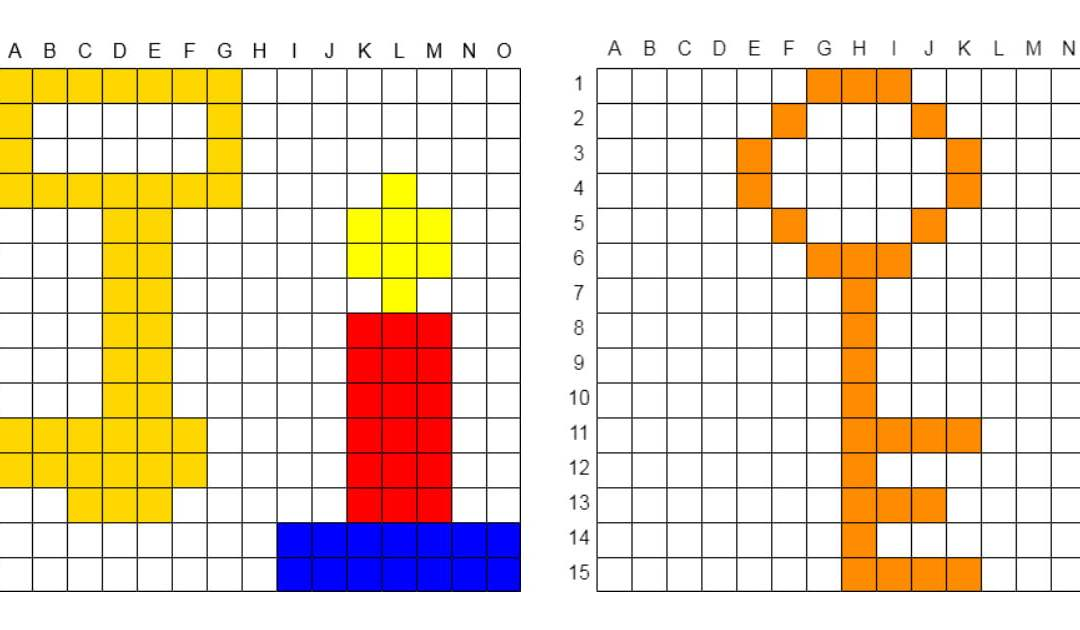 Kodowanie / Dyktando graficzne: Klucz