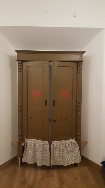 wejście do sali projektowania