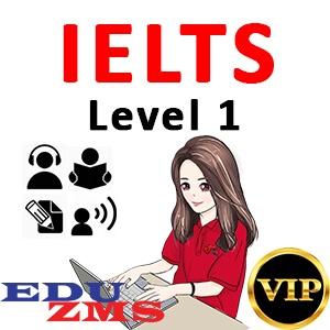 IELTS Full Course Level 1 - VIP Gold