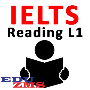 IELTS Reading Level 1