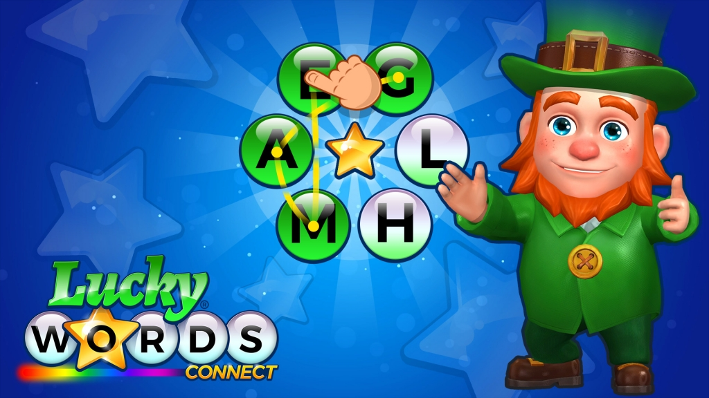 Lucky Words Connect promotional title