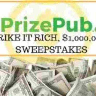 PrizePub Strike It Rich Sweepstakes