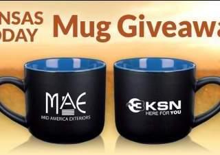 KSN Kansas Today Mid America Exteriors Mug Giveaway