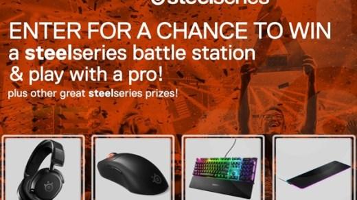 Steelseries Prime Gaming Kit Giveaway