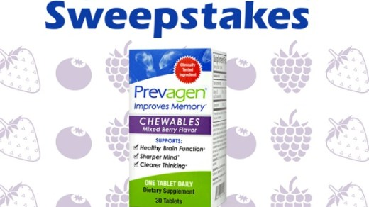 Prevagen Chewables Year Supply Sweepstakes