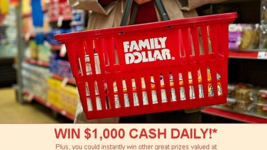 Give Family Dollar Feedback in Survey