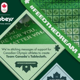 Sobeys Feed The Dream Tablecloth Contest