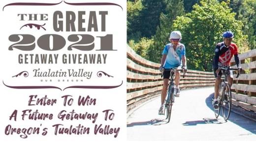 Washington County Visitors Association Great Getaway Giveaway
