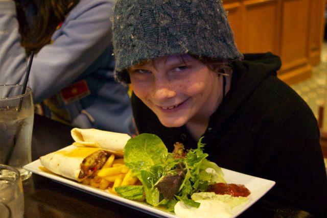 Ezra's Kangaroo Burrito