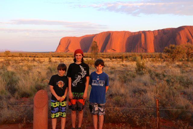 Uluru-boys