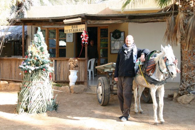 Christmas morning in the Sahara, Tunisia, 2008