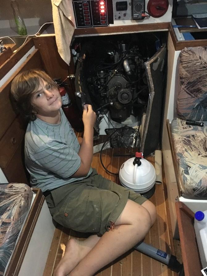 Ezra and the art of diesel mechanics