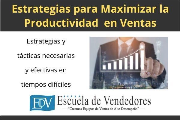 Maximizar productividad en ventas