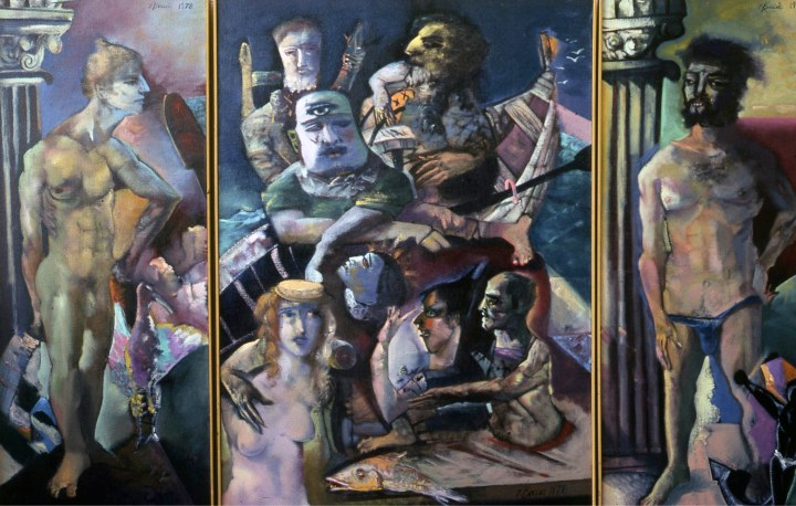 Edward-Boccia, Ed-Boccia, Boccia, Art, Painting, Expressionism, WashingtonUniversityStLouis, St-Louis, Neo-Expressionist, Italian-American, American-Art, Missouri