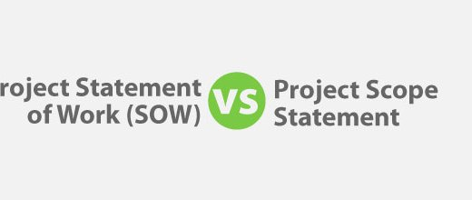 Project Statement of Work (SOW) vs Project Scope Statement for PMP Exam