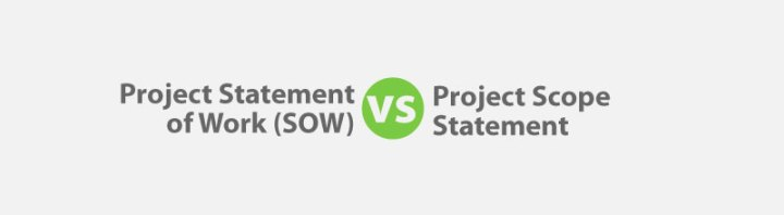 Statement Of Work (Sow) Vs Project Scope Statement For Pmp Exam