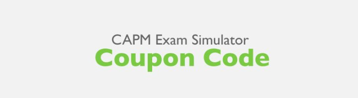 CAPM Exam Simulator Coupon Code / Discount Gift Certificate