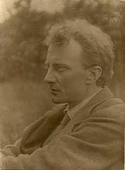 Photograph of Edward Thomas Gazing