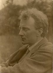 Photograph of Edward Thomas Gazing