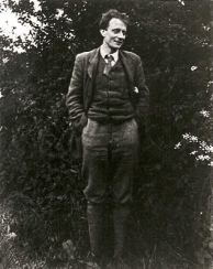 Photograph of Edward Thomas in 1913