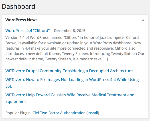 WordPress News 2015-12-13