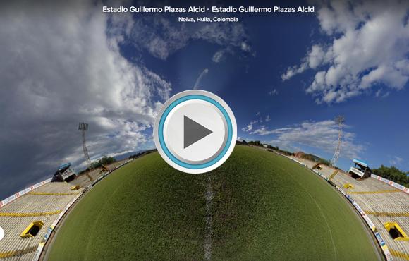 TOUR VIRTUAL 360° Estadio Guillermo Plazas Alcid