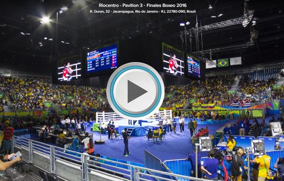 TOUR VIRTUAL 360° Riocentro - Pavilion 3,Rio de Janeiro, Brasil