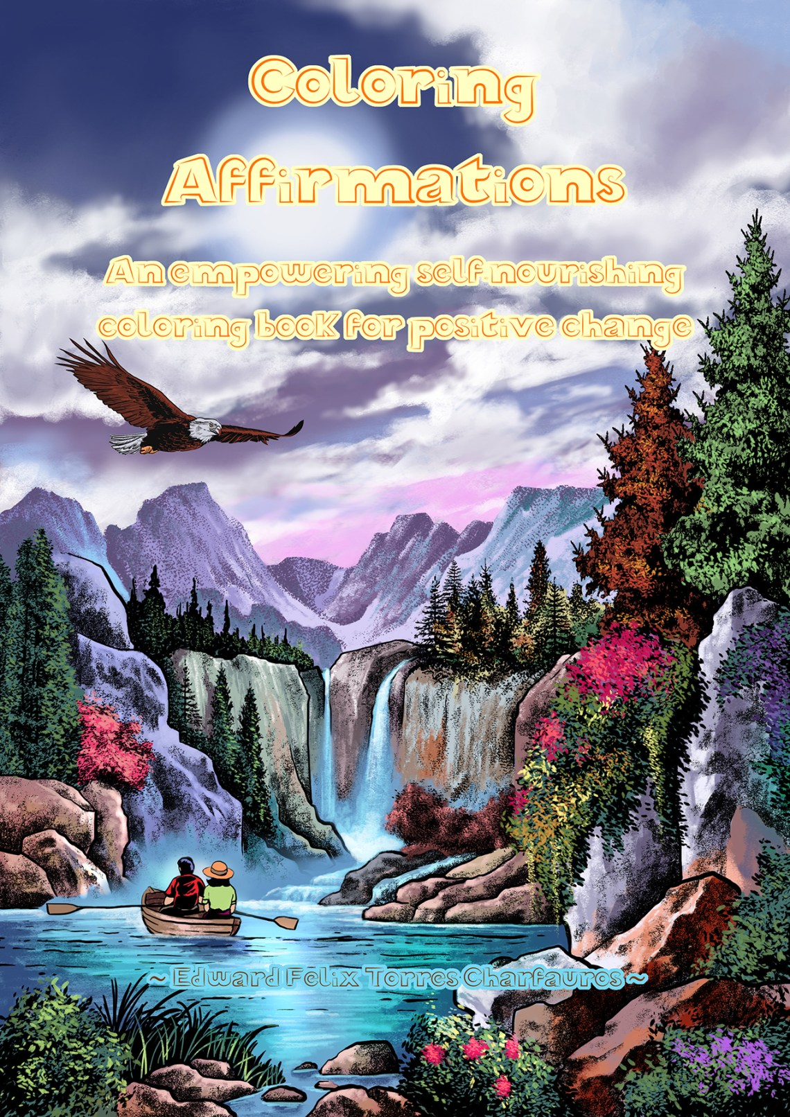 Coloring Affirmations Front Cover - WEB