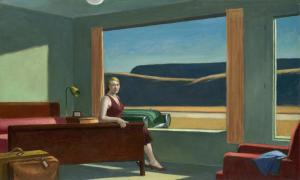 Western Motel (1957), Edward Hopper