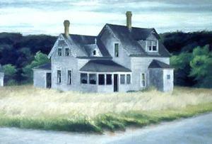 House by A Road Edward Hopper Taliesin West