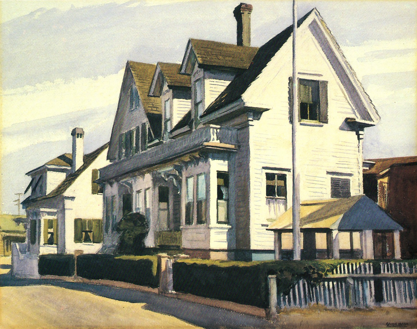 House in Provincetown (1930), Edward Hopper