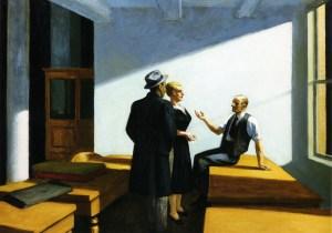 Conference at Night Edward Hopper Wichita Art Museum