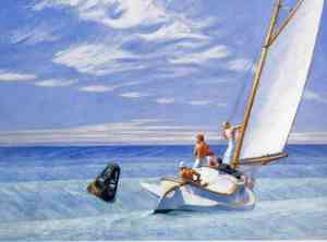 Ground Swell (1939), Edward Hopper, Corcoran Gallery of Art, Washington, D.C.