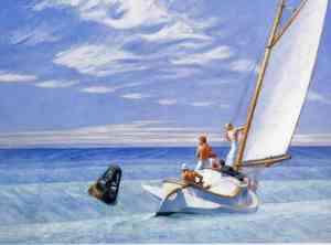 Ground Swell (1939), Edward Hopper, Corcoran Gallery of Art, Washington, D.C.