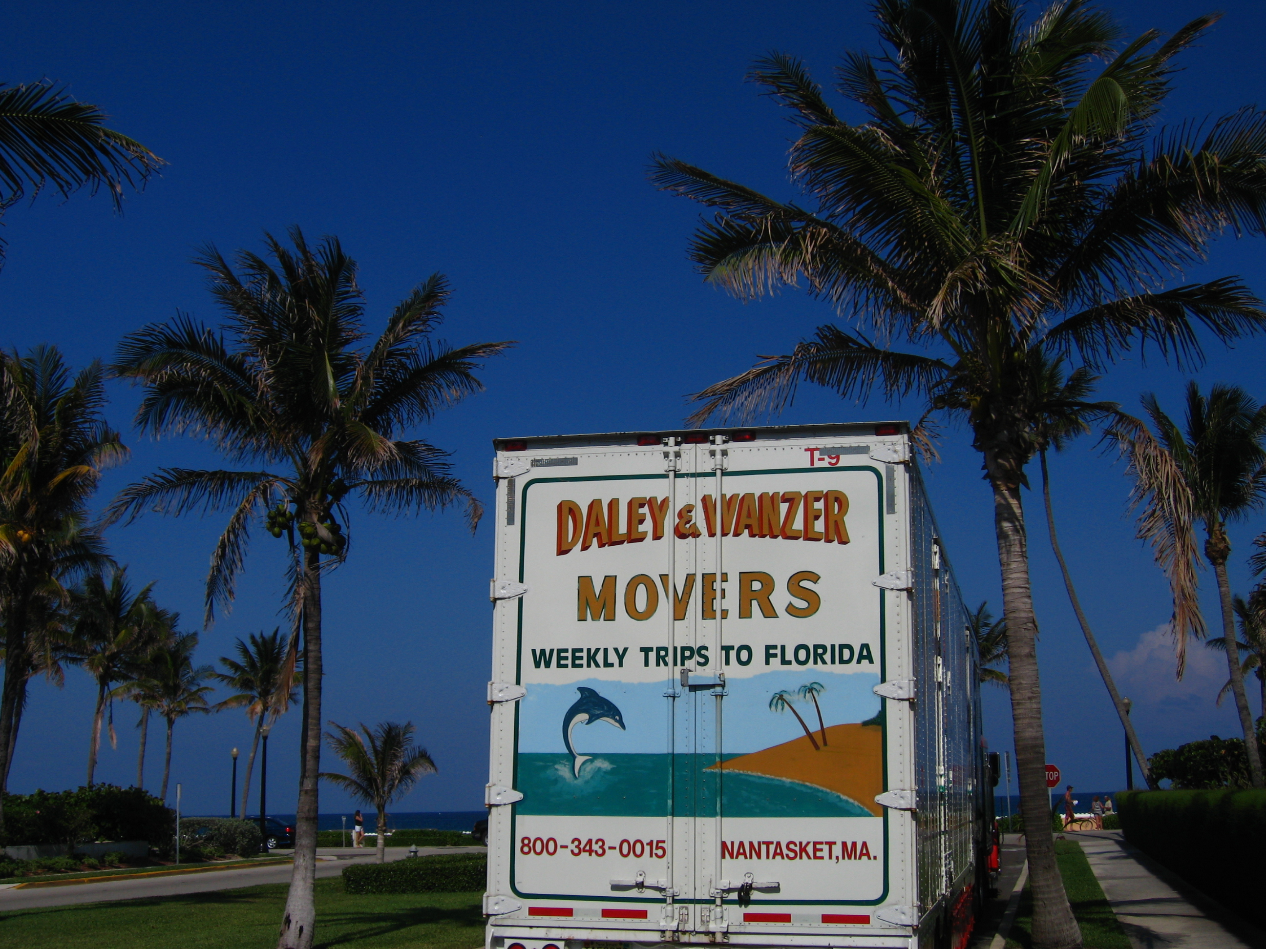 Moving Van, West Palm Beach, Florida