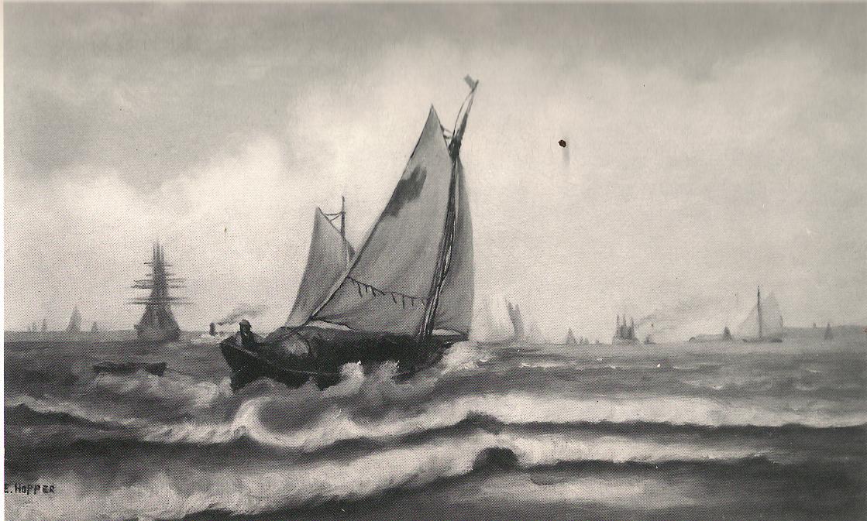 Ships (1898) Edward Hopper Brevard Museum Melbourne Florida