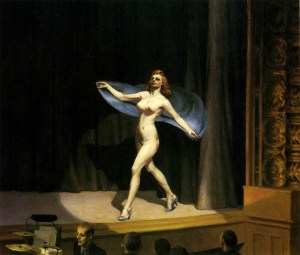 Girlie Show (1941) Edward Hopper