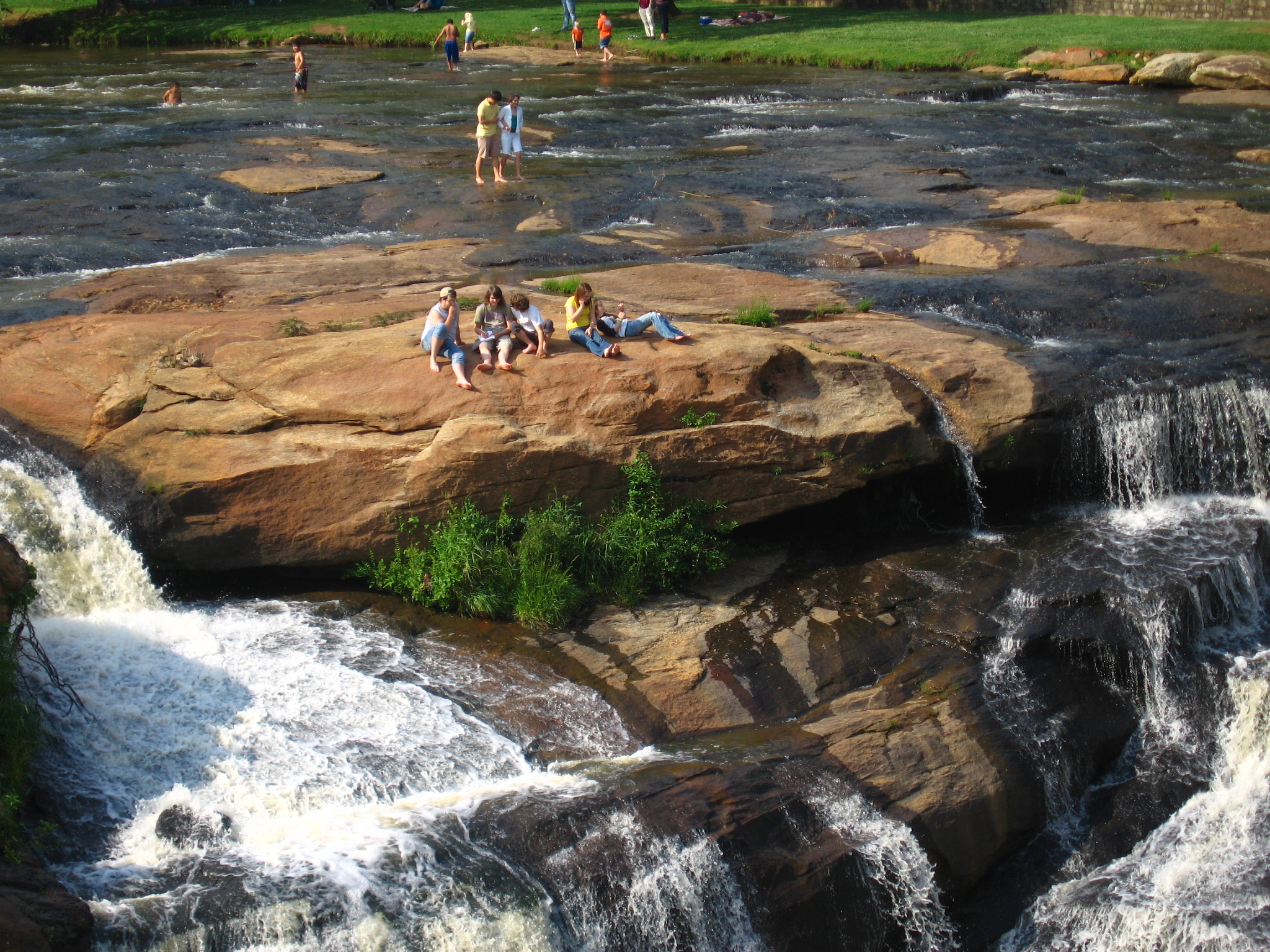 Falls Park, Greenville, South Carolina