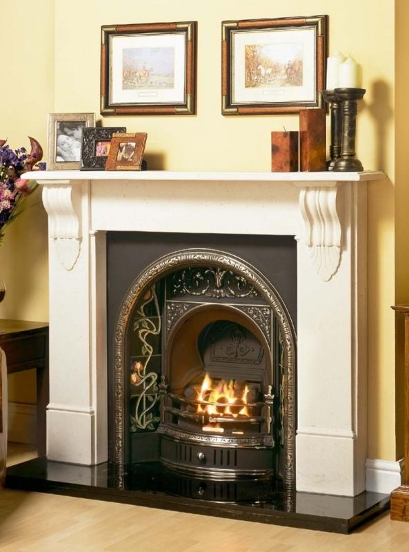 Victorian Corbel Mantel Edwardian Fireplaces