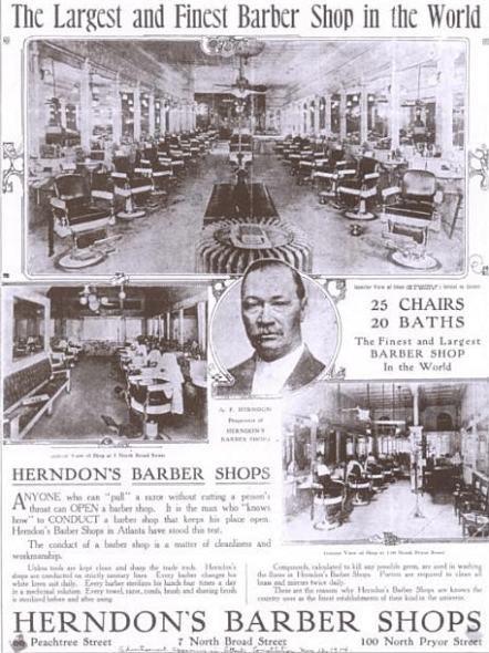 Herndon's Crystal Palace Barber Shop