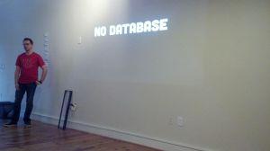 No database