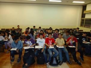 2014-01-27 Kampus Syahdan L3A Try Out HIMTI sebelum UAS