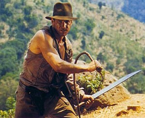 Crack the whip! Life lessons from Indiana Jones
