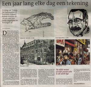 Leeuwarder Courant over Studio Edward Kobus