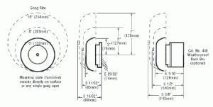 Edwards Signaling  Fire Alarm Bells 323D & 430D Series