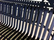Edwards Equipment Sales Powder Coating on Park Bench 7