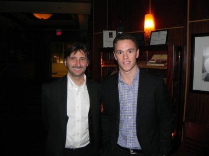 Ed and Jonathan Toews