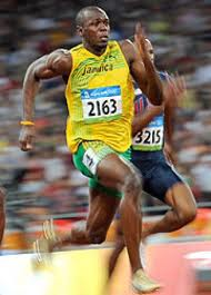 Usain Bolt knows a little something about sprinting
