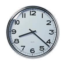 The clock's ticking...